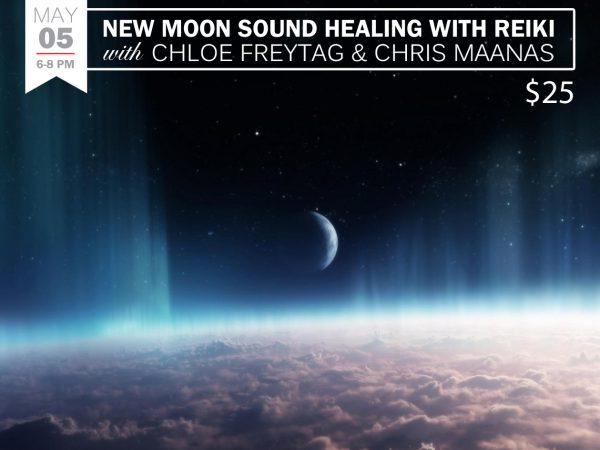 New Moon Sound Healing with Reiki